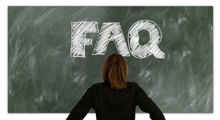 FAQs adressieren die Fragen potenzieller Kursteilnehmer