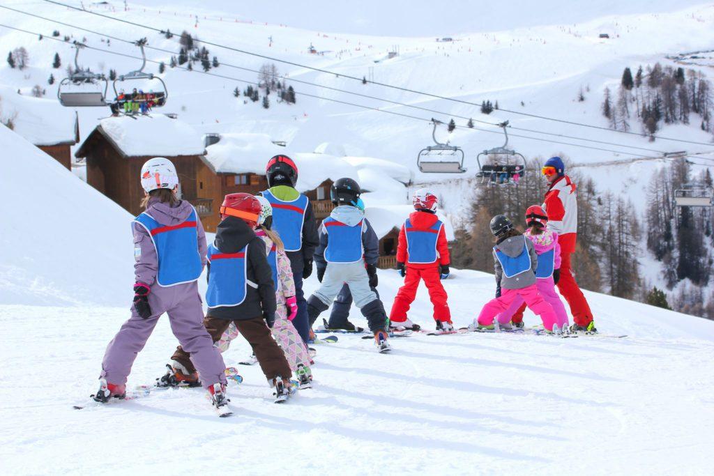 Kinder, Freizeit, Ski, Skifreizeit