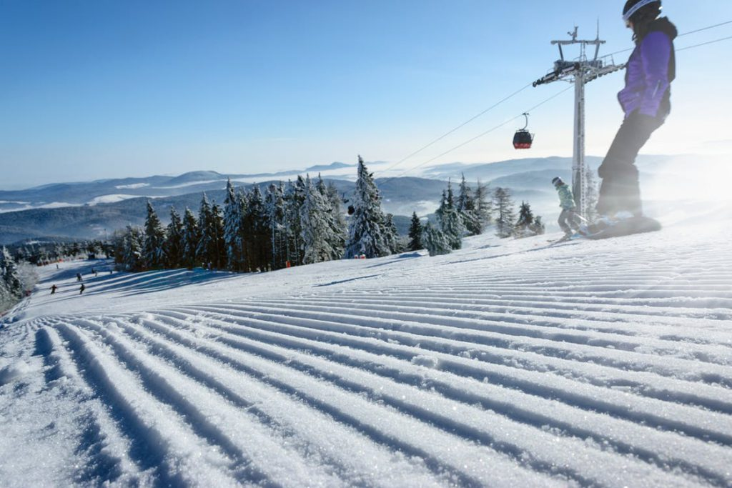 Ski, Skilift, Lift, Abhang, Hang, Ski