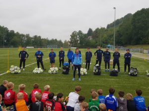 Das Trainerteam der ProKick Fußballschule