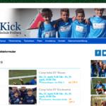 Homepage der ProKick-Fußballschule