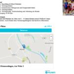 Buchungsprozess auf der ProKick-Fußballschule auf der Homepage