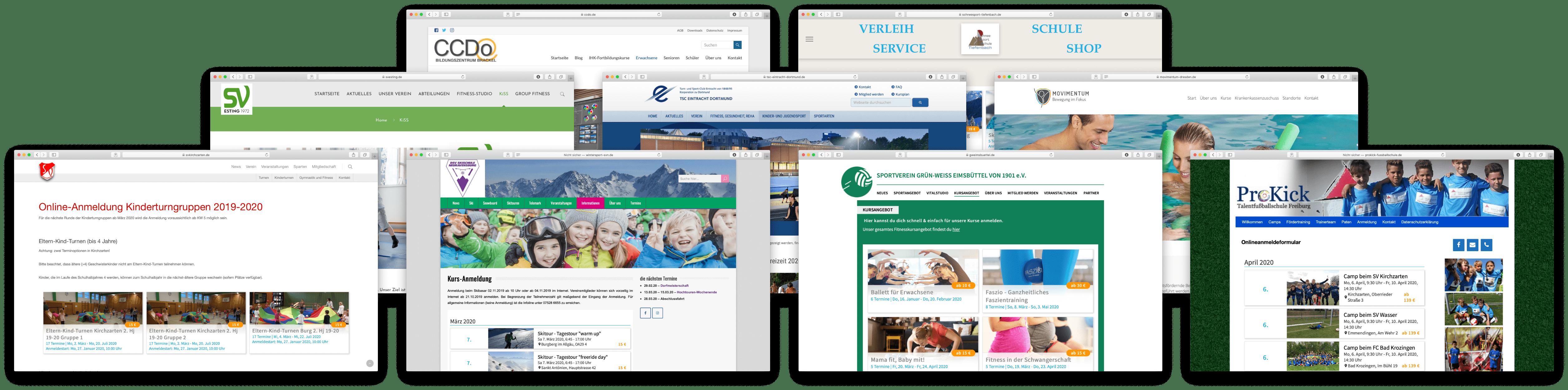 Kundenbeispiele Homepages