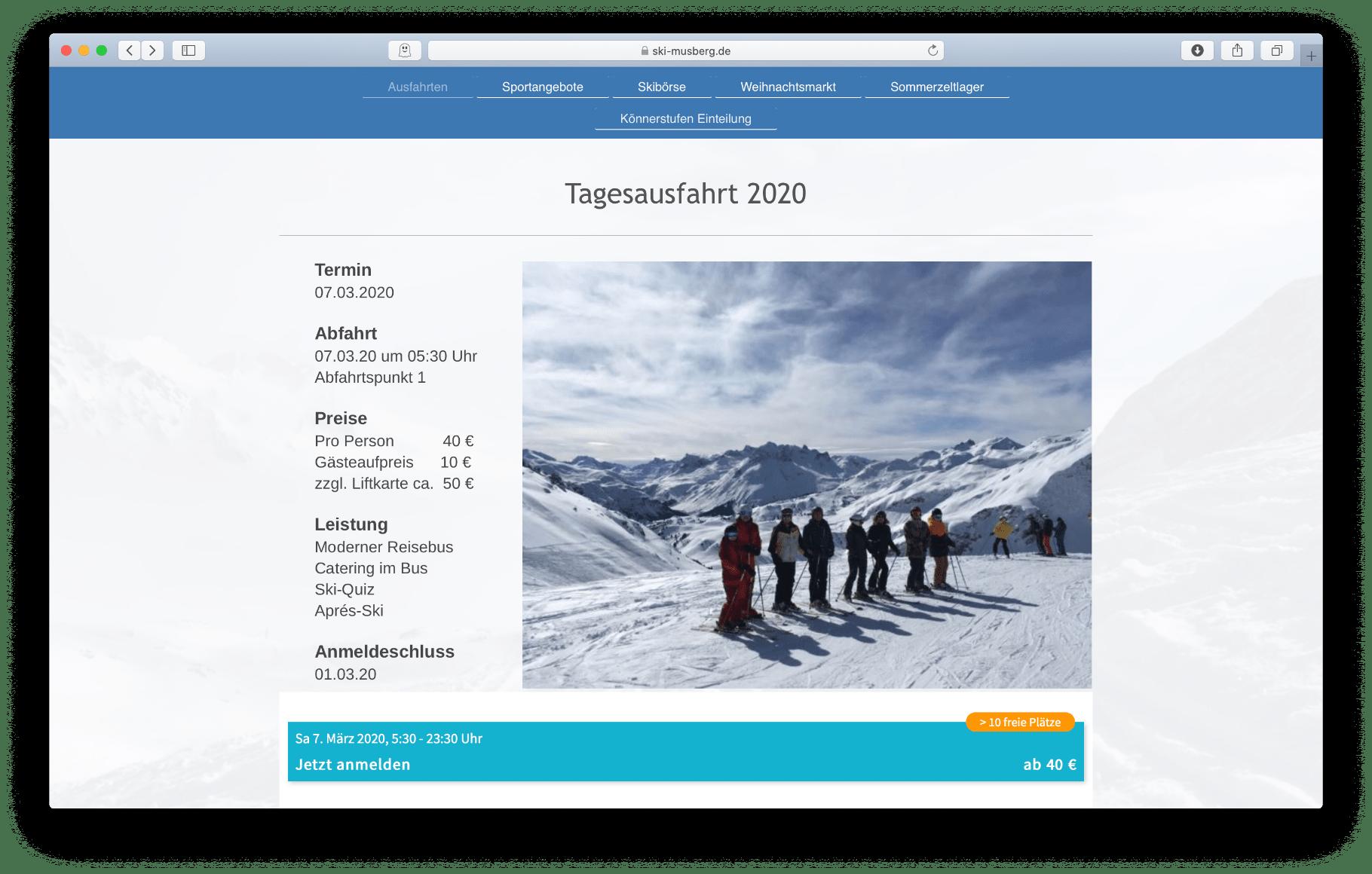 TSV - Homepage