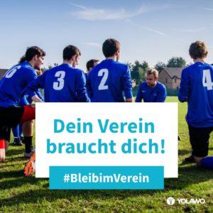 #BleibimVerein - Fußball