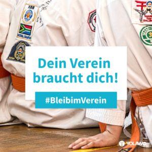 #BleibimVerein - Kampfsport