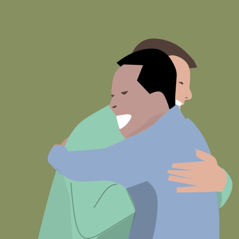 Baue ein freundschaftliches Verhältnis zu anderen Ehrenamtlern auf!