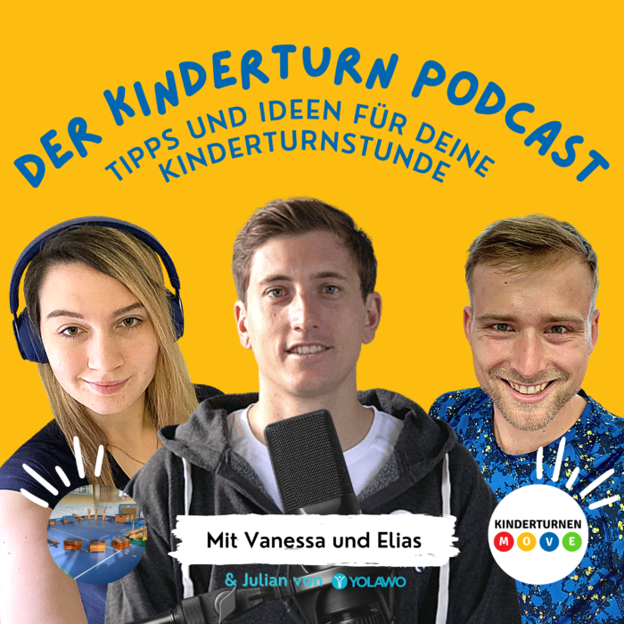 Yolawo zu Gast beim Kinderturn Podcast