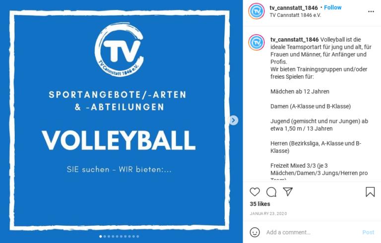 Stelle deine Abteilungen auf Instagram vor!